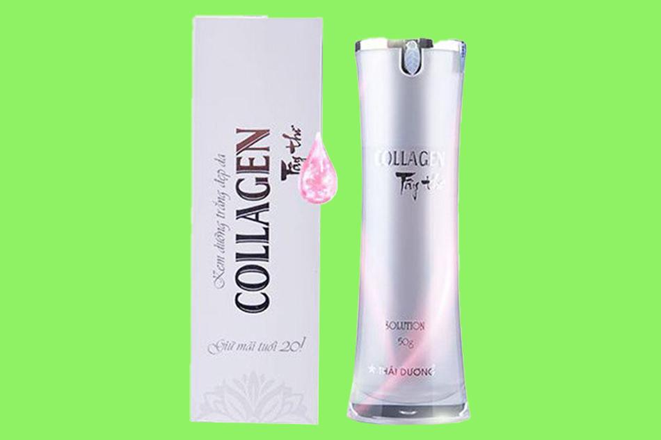 Tác dụng của kem dưỡng trắng đẹp da Collagen Tây Thi