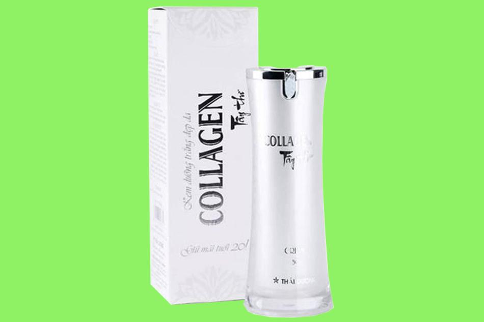 Thành phần của kem dưỡng trắng da Collagen Tây Thi